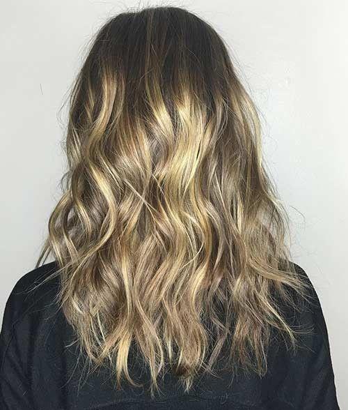 25 üppige schmutzige blonde Haarschattierungen #blonde #haarschattierungen #sc…