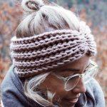 26 Easy Crochet Headband Ideas and Free Patterns 2019 - Page 7 of 26 #knitheadba...