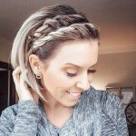 27 Amazing braids for short hair 2019