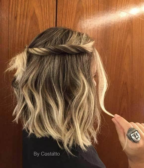 27 Beautiful and Fresh Braid Hairstyle Ideas for Short Hair