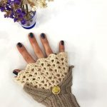 27 Comfortable And Free Crocheted Fingerless Glove Patterns 2019 - Page 26 of 27