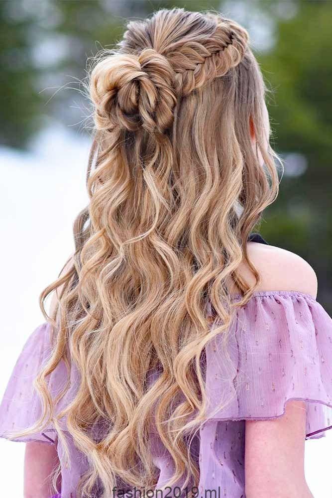 27 verträumte Prom Frisuren für eine Nacht, #frisuren #hair #nacht #vertraumte