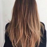 28 Ombre Straight Frisuren
