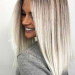 28 peinados rectos largos 2018