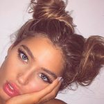 30 Charming Top Knot Hairstyles