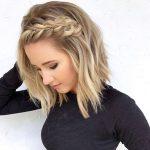 30+ Erstaunliche Geflochtene Frisuren Für Kurzes Haar ++++
