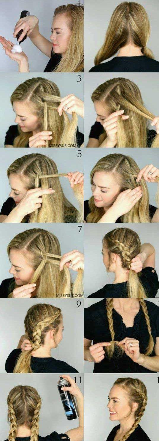 30 French Braids Frisuren Schritt für Schritt – Wie French Braid Your Own