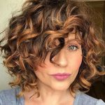 30 Gorgeous Short Hairstyles for Curly Hair with Bangs | Short Hairstyles & Haircuts | 2018 - 2019