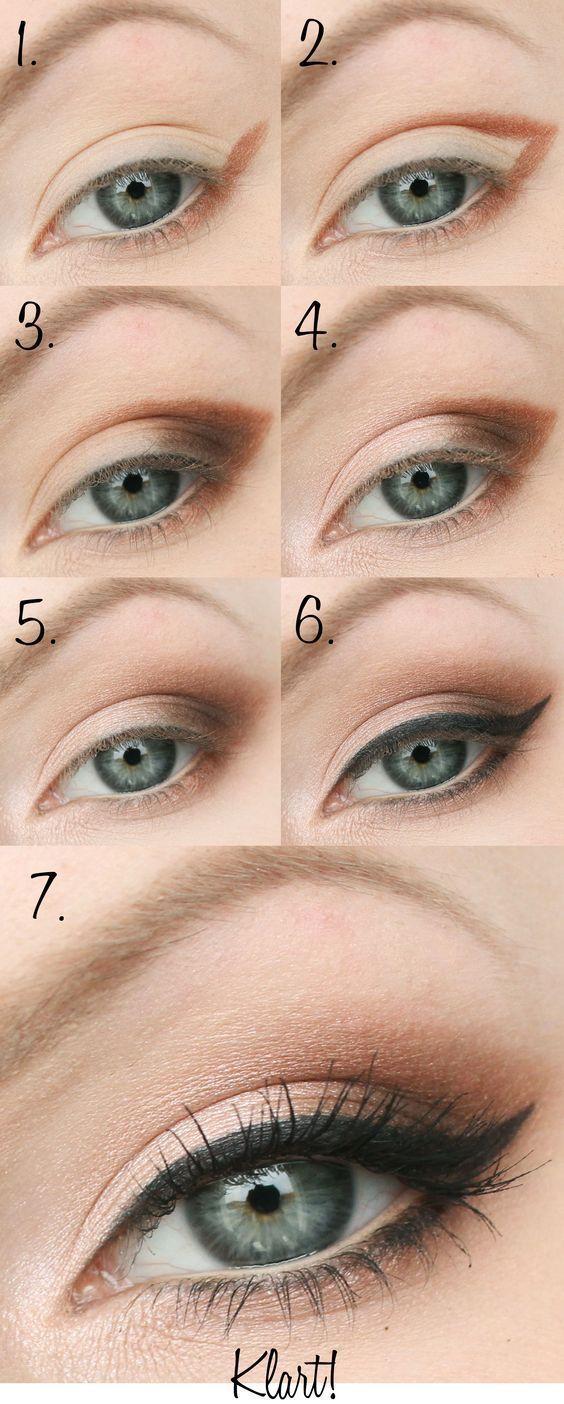 32 Easy Step by Step Eyeshadow Tutorials for Beginners – Makeup Ideas
