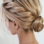 33 Amazing Prom Hairstyles For Short Hair 2019 #promhairupdowithbraid Twisted Up...