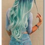 33 Blue Ombre Hair Color Trend In 2019   - HairStyles - #Blue #Color #HAIR #Hair...