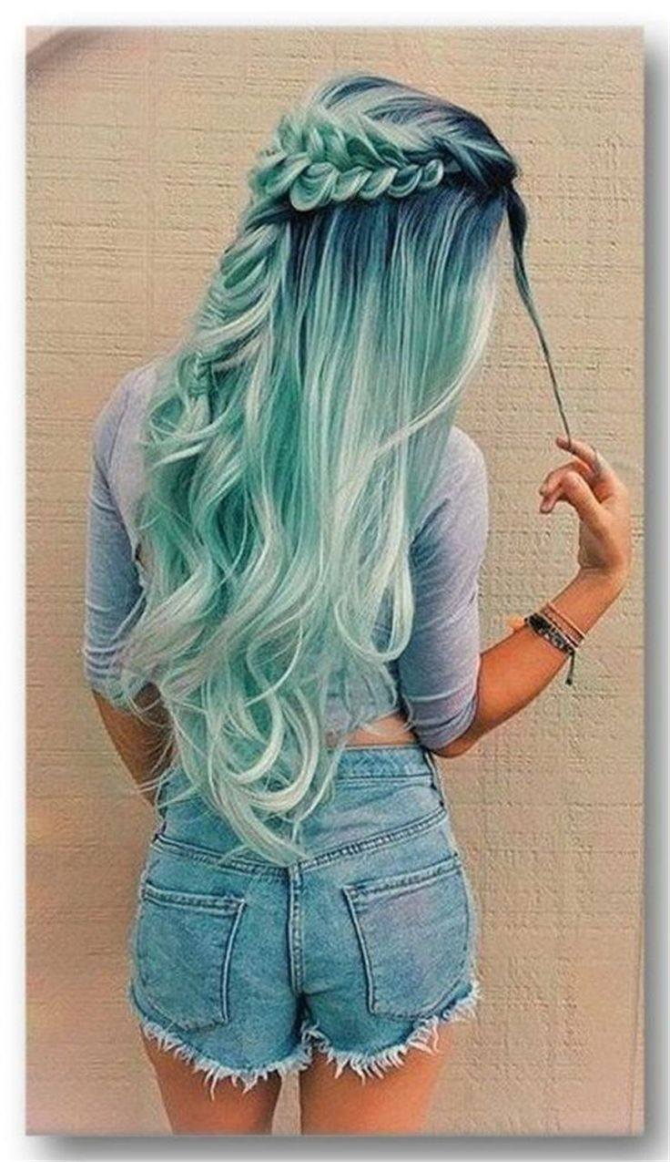 33 Blue Ombre Hair Color Trend In 2019   – HairStyles – #Blue #Color #HAIR #Hair…