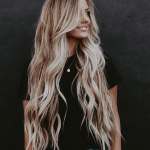 33 Hottest Blonde Balayage Highlights With Layers For Long Hair Design Ideas - P...