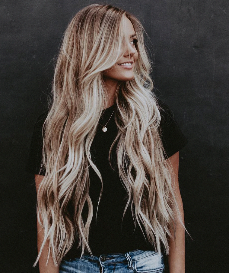 33 Hottest Blonde Balayage Highlights With Layers For Long Hair Design Ideas – P…