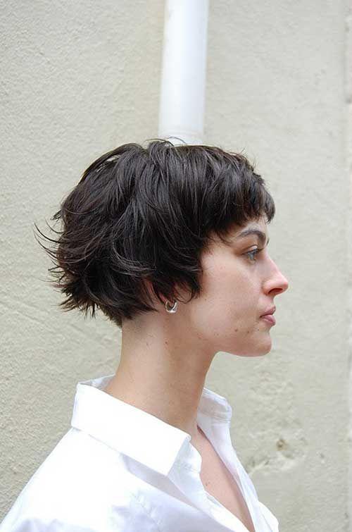 35 kurze Haarschnitte für dickes Haar – http://wolfpack-toptrendspint.blackjumpsuitoutfit.tk/