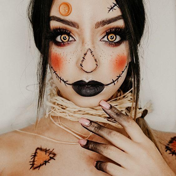 4 Halloween mobile presets, Autumn presets, Fall season presets, Orange Pumpkin presets, Instagram presets, Blogger Presets, Selfie presets