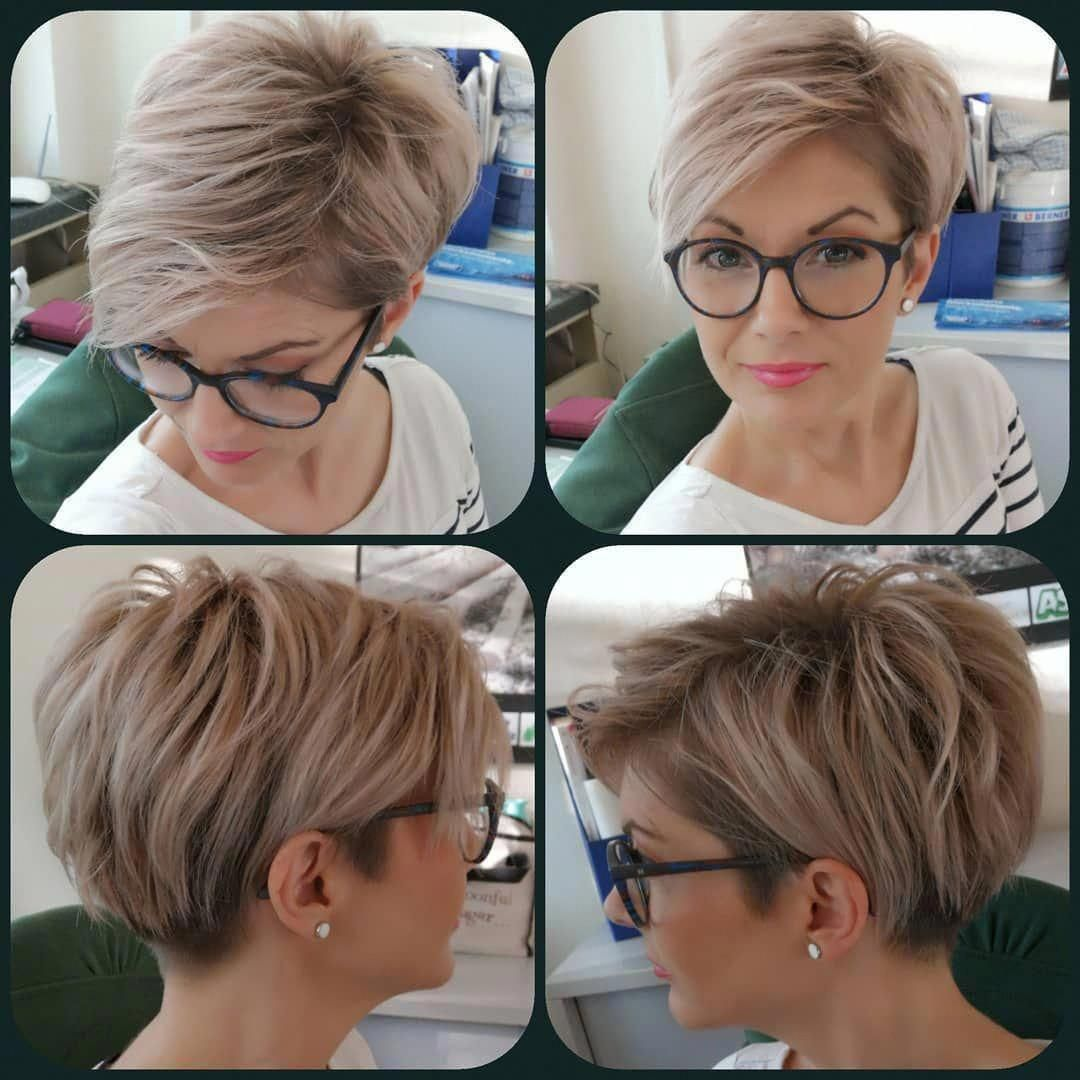 40 Best New Pixie And Bob Haircuts for Women 2019 – Pixie Hairstyle #BobHaircuts…