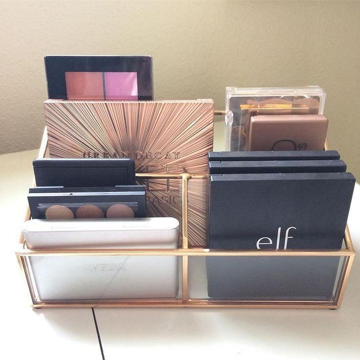 40+ Fancy Make up Storage Ideas