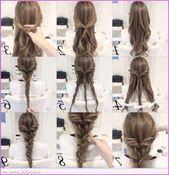 40 Süße Frisuren: Schritt-für-Schritt-Anleitungen für langes Haar, langes, v…
