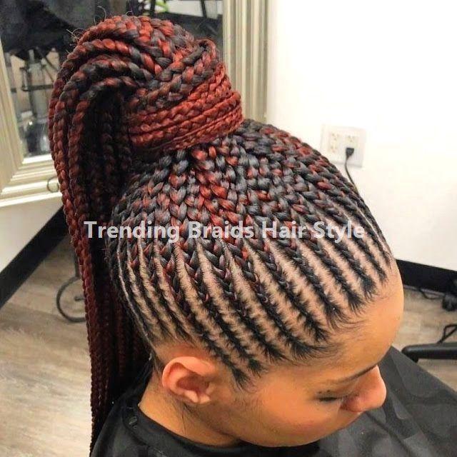 40 Trendy Hair Braiding Styles : Perfectly Cool… #blackbraidedhairstyles Easy …