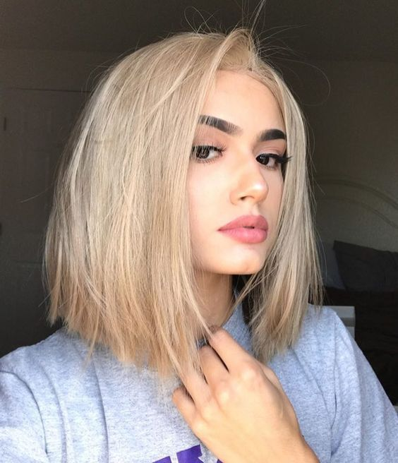 41+ Cute Shoulder Length Haircuts for Women in 2019