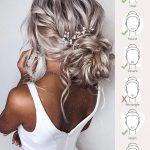 42 Hochzeitsfrisuren - Romantische Hochzeitsupdates # Hochzeitsupdates - Hochzeit frisuren - Claire C.