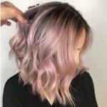 42 Trendy Rose Gold Blonde Haarfarbe Ideen - Rose Gold Haar Highlights, Rose Go ... -  #blond...