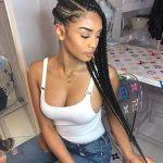 43 Cool Ways to Wear Feed In Cornrows | StayGlam