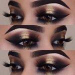 43 Glitzernde Make-up-Ideen für jedes NYE-Make-up   - make-up - #für #Glitzern...