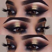 43 Glitzernde Make-up-Ideen für jedes NYE-Make-up   – make-up – #für #Glitzern…