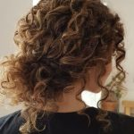 45 Charming Bride's Wedding Hairstyles For Naturally Curly Hair