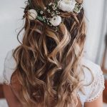 45 Half Up Half Down Wedding Hairstyles Ideas