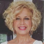 45 Short Curly Hairstyles for Women Over 50 #curlyhairstyles 45 Short Curly Hair...