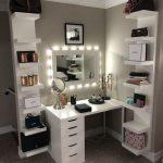 46 schönsten Makeup Vanity Table Designs, die Sie lieben werden #makeupvanityta...