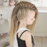 50 Pretty Perfect Cute hairstyles for little girls who show their stylish side,  #cute #girls...