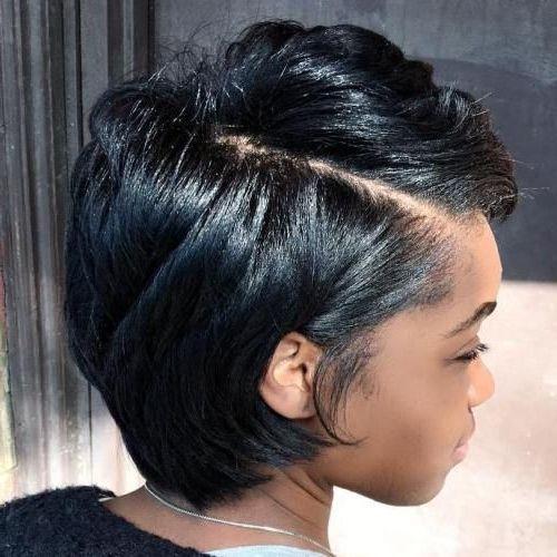 50 Short Black Hairstyles Ideas in 2019 #blackhairstyles 50 Short Black Hairstyl…