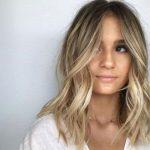 50 besten mittellangen Frisuren für dünnes Haar
