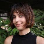 50 super süße Looks mit kurzen Frisuren für runde Gesichter   - Hair Styles -...