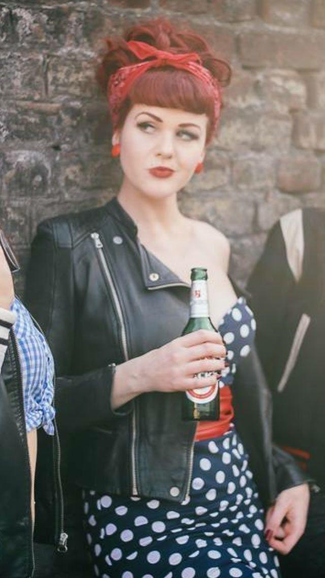 50er Rockabilly Kostüm selber machen – Andrea A – #50er #Andrea #Kostüm #mache…
