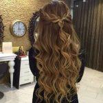 53 süße und einfache lockige Frisuren  #einfache #Frisuren #halboffen #lockig