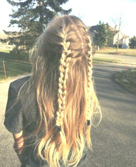 54 Niedliche und einfache lange Frisuren für die Schule für Herbst und Winter …