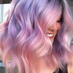 55 Dreamy Lilac Hair Color Ideas: Lilac Hair Dye Tips #Color #Dreamy #Dye #hair