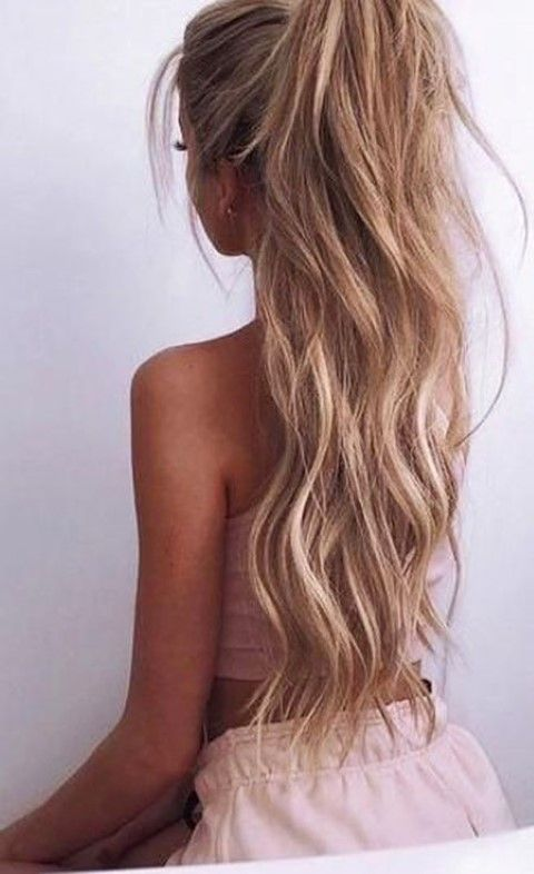 60 Best Long Ponytail Hairstyles 2017