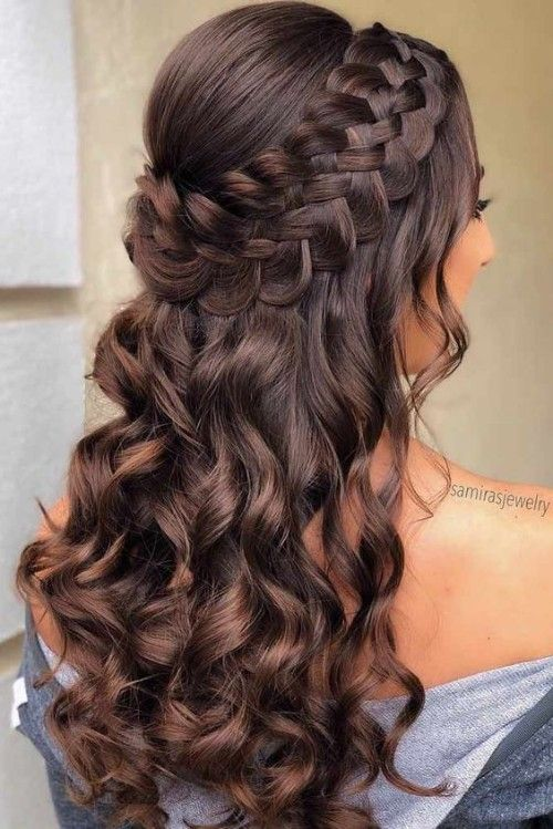 60 Mind Blowing Quinceanera Hairstyles for Long Hair