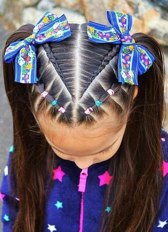 60+ SWEET AND LOVELY CHILDREN'S BRAIDED HAIRSTYLES YOU WILL LIKE – Page 6 of 69