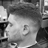 60 kurze Frisuren für Männer mit dünnem Haar – feine Schnitte,  #dünnem #feine #Frisuren #für…