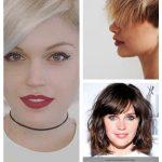 60 kurze Frisuren für runde Gesichter 2018-2019 – #Hair #shorthair #shorthair...