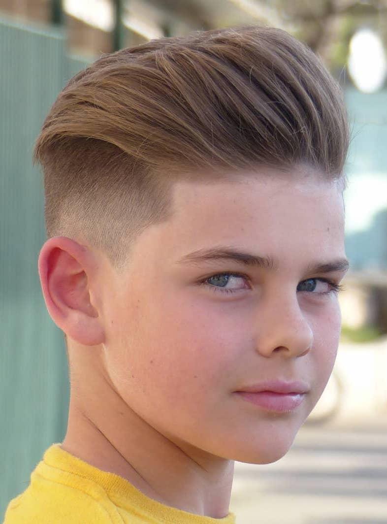 61 Coole Jungs Frisuren Kurz Und Mittellang