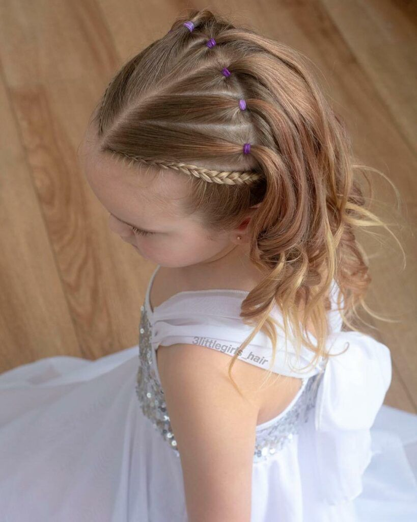 65 young girl's braid hairstyles mother could try for their princess – Page 28 o…