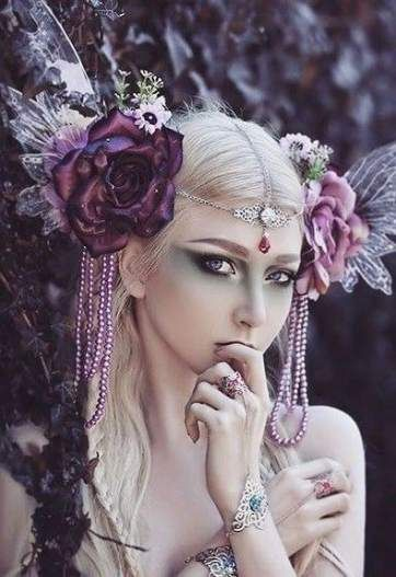 67+ Trendy Ideas For Fashion Photography Fantasy Headpieces